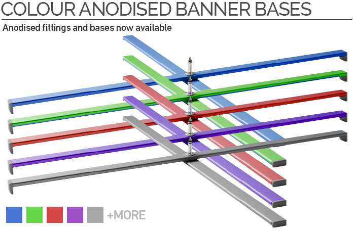Anodised Banner Base