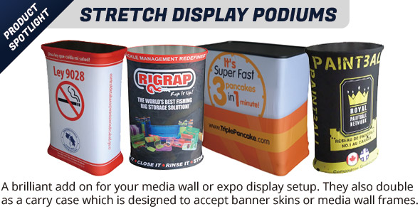 Printed Stretch Podiums