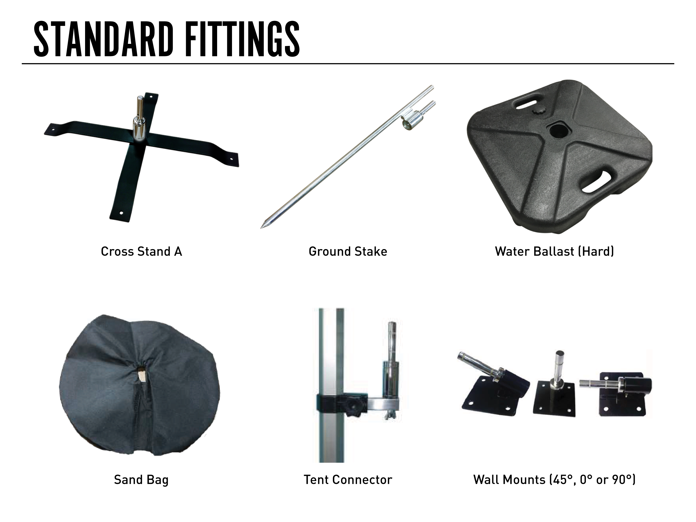 Standard Flag Fittings